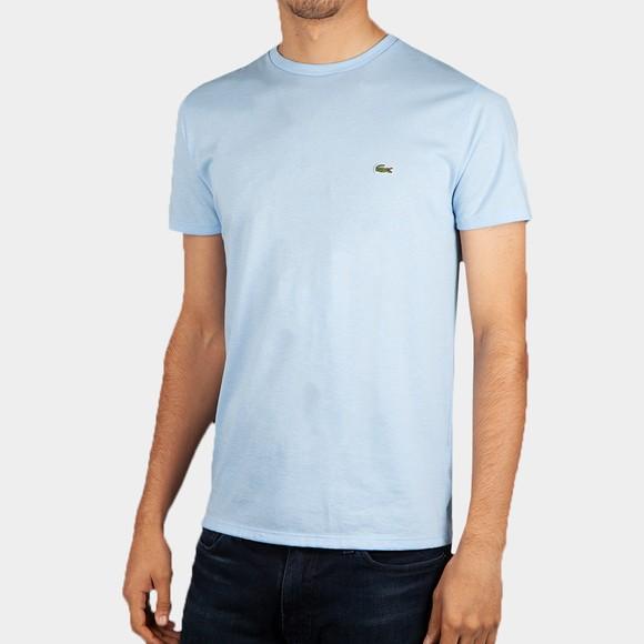 Lacoste Mens Blue TH6709 Pima Cotton T-Shirt