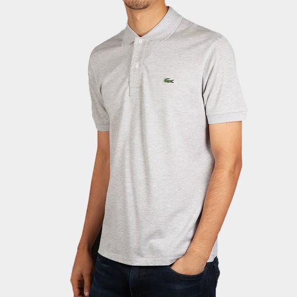 Lacoste Mens Grey L1264 Plain Polo