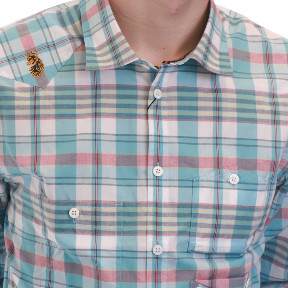 Luke Sunsky Pocko Check Shirt main image
