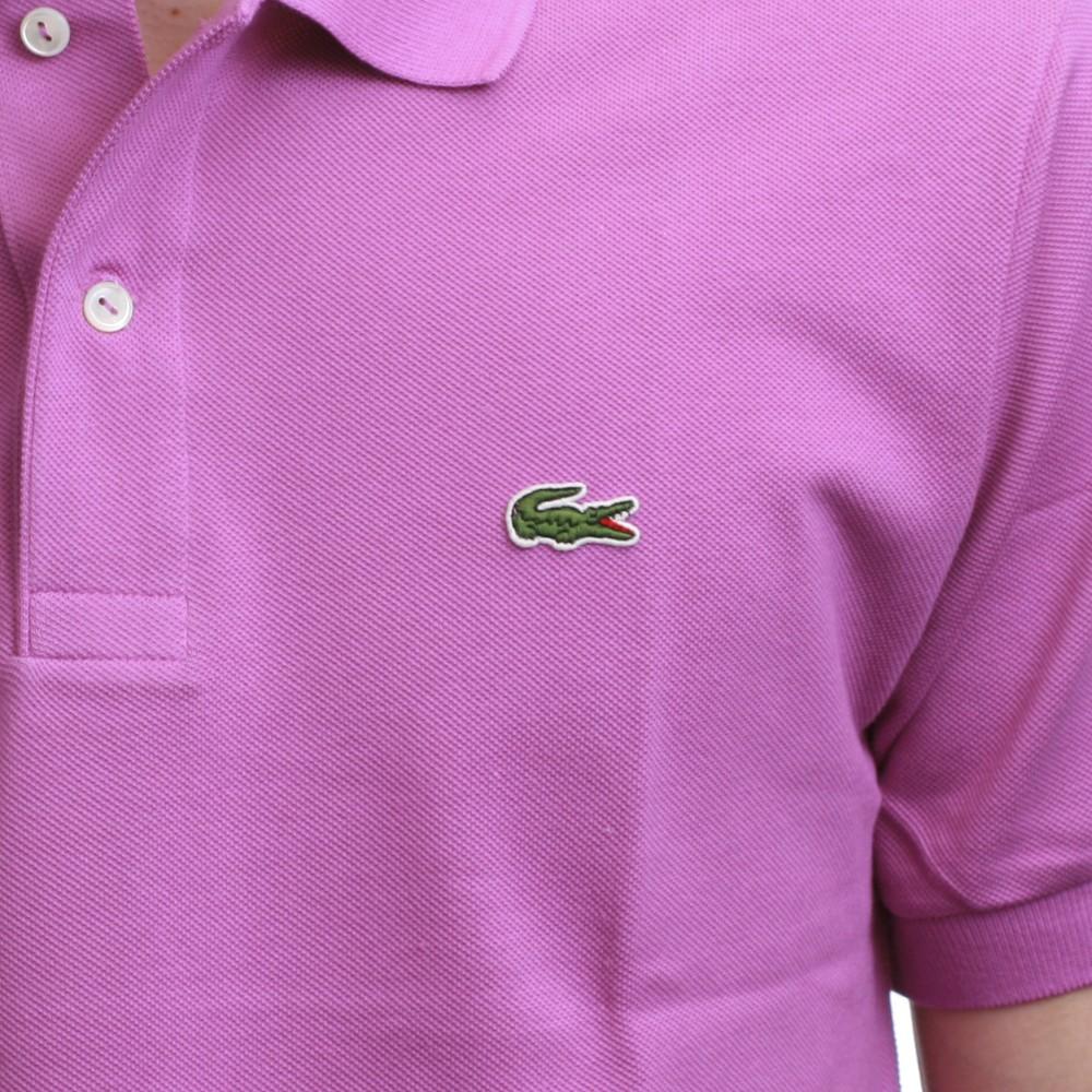 d38ad8b5567 Lacoste L1212 Petale Plain Polo Shirt main image