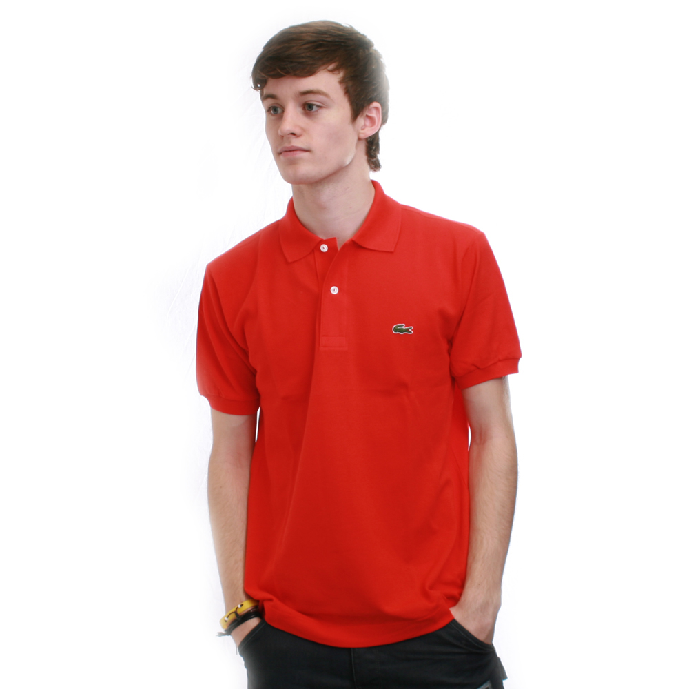 7a133d10 Lacoste L1212 Groseillier Plain Polo Shirt | Oxygen Clothing