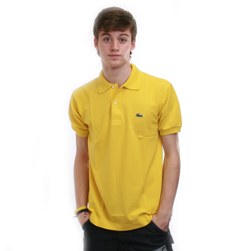 b51850ee Lacoste Curry Plain Polo Shirt | Oxygen Clothing