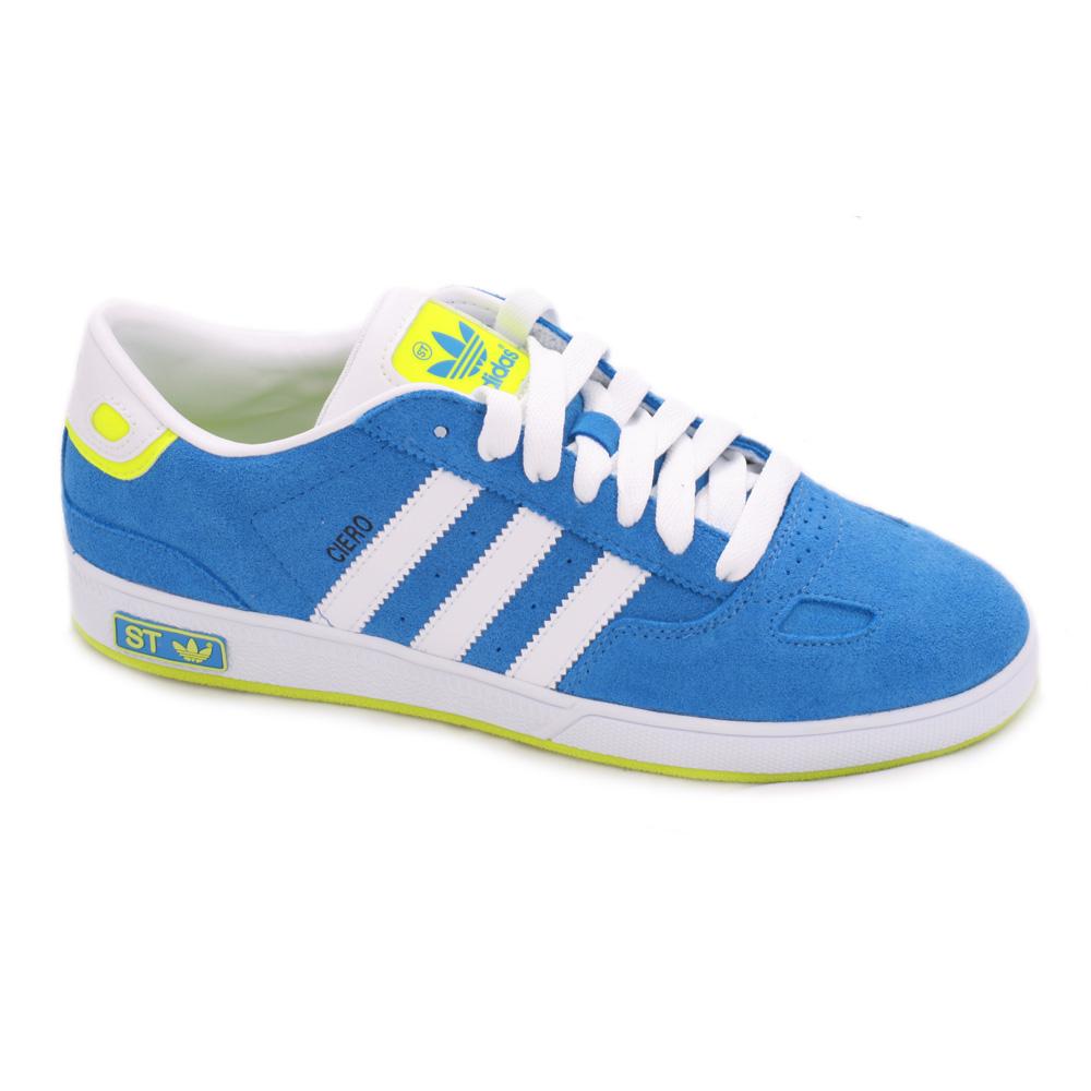 best service 0ca85 98be0 Adidas Ciero ST BlueWhiteElecrtic Trainer main image