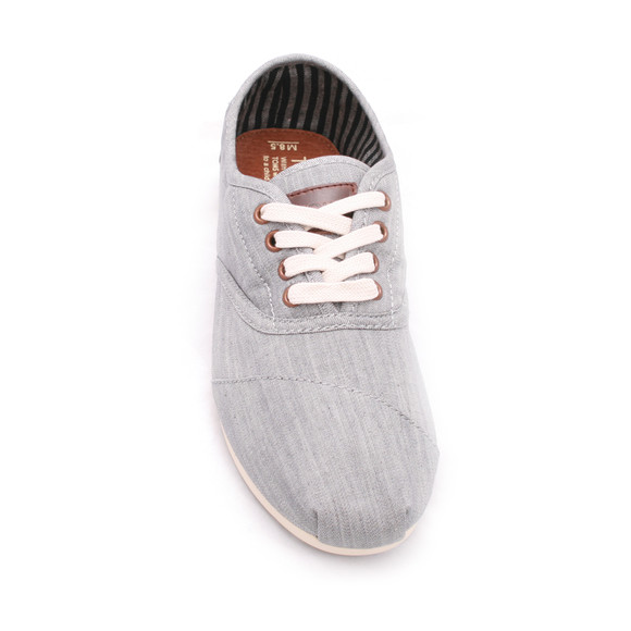Toms Mens Grey Toms Grey Cordones Lace Up main image
