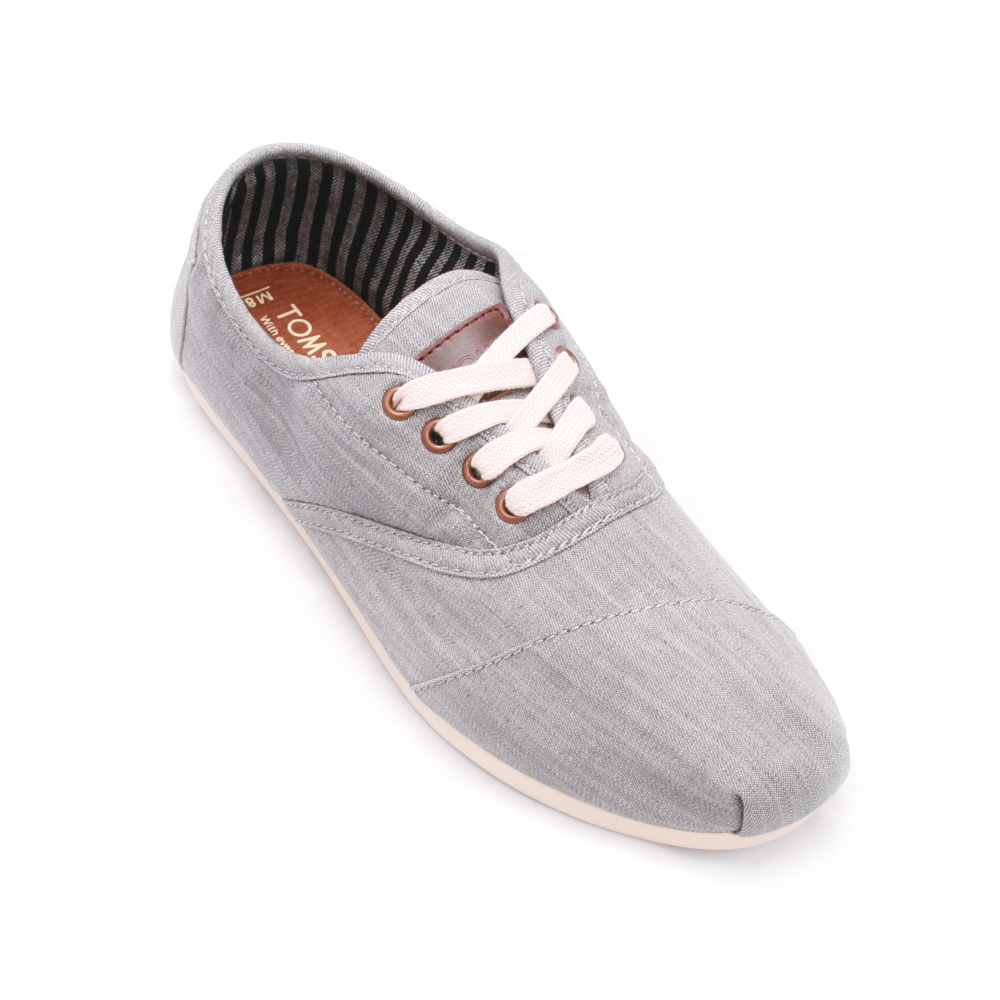 Toms Grey Cordones Lace Up main image