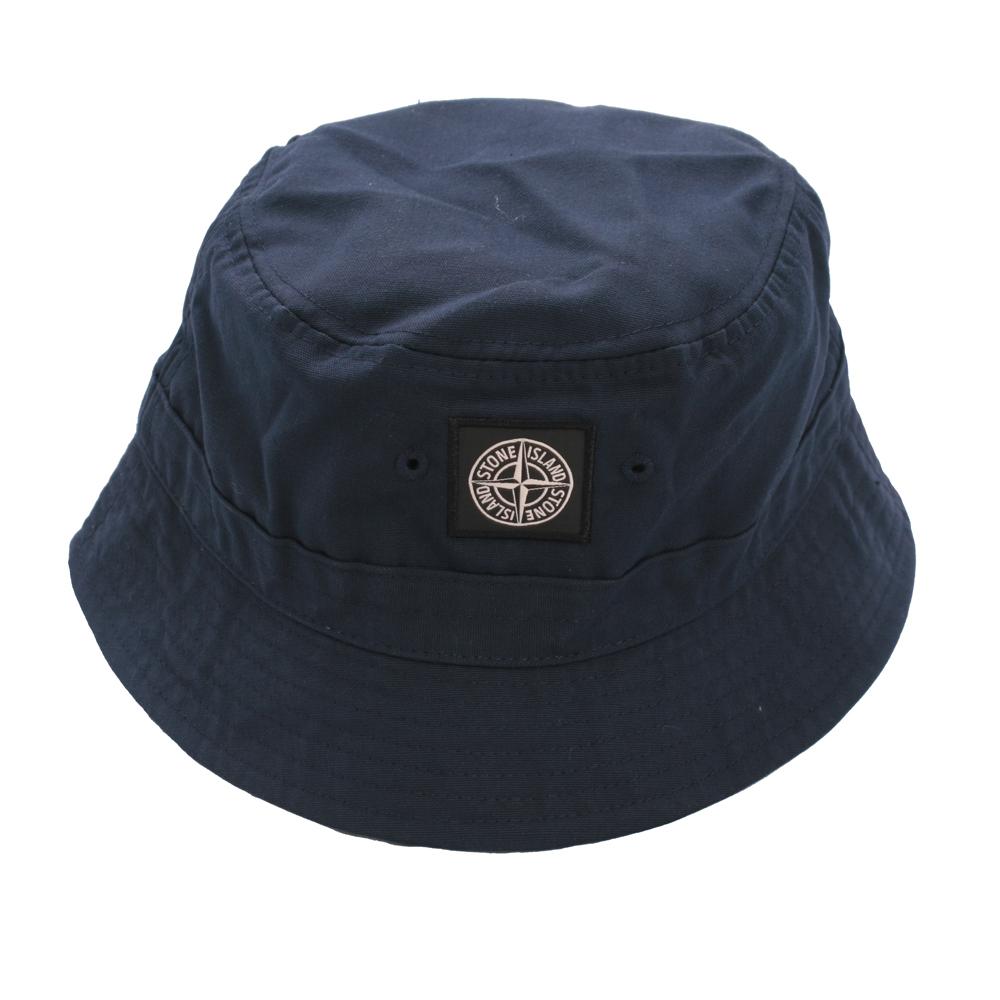 Stone Island Navy Bucket Hat  cbcf5b8b66a