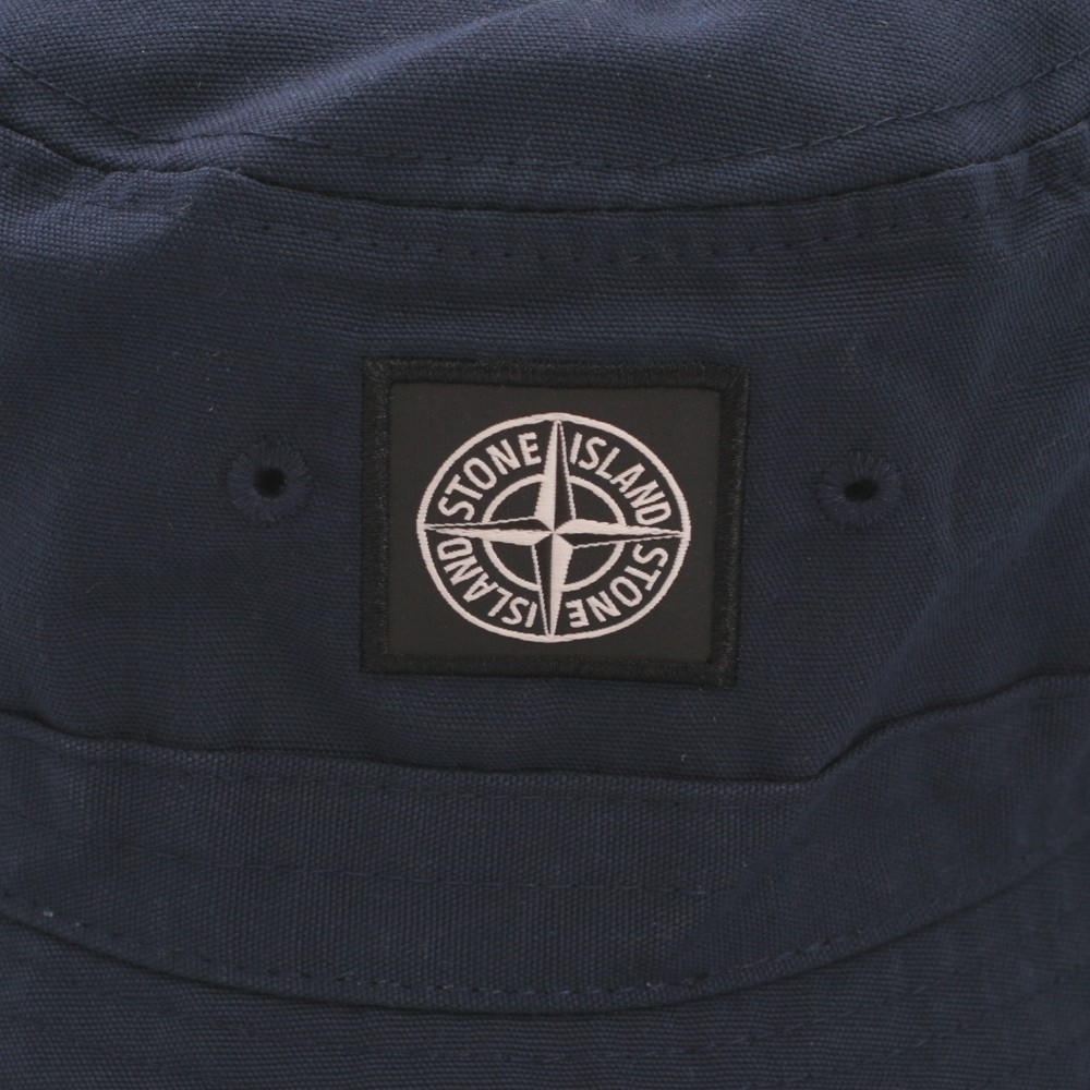 31901befcf9 Stone Island Navy Bucket Hat main image