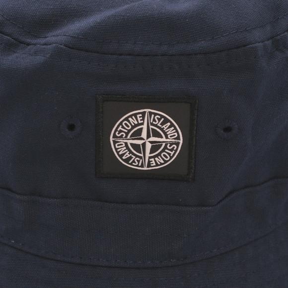 Stone Island Mens Blue Stone Island Navy Bucket Hat main image
