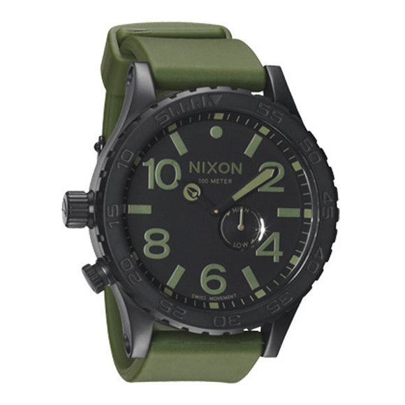 Nixon 51-30 Matte Black Surplus