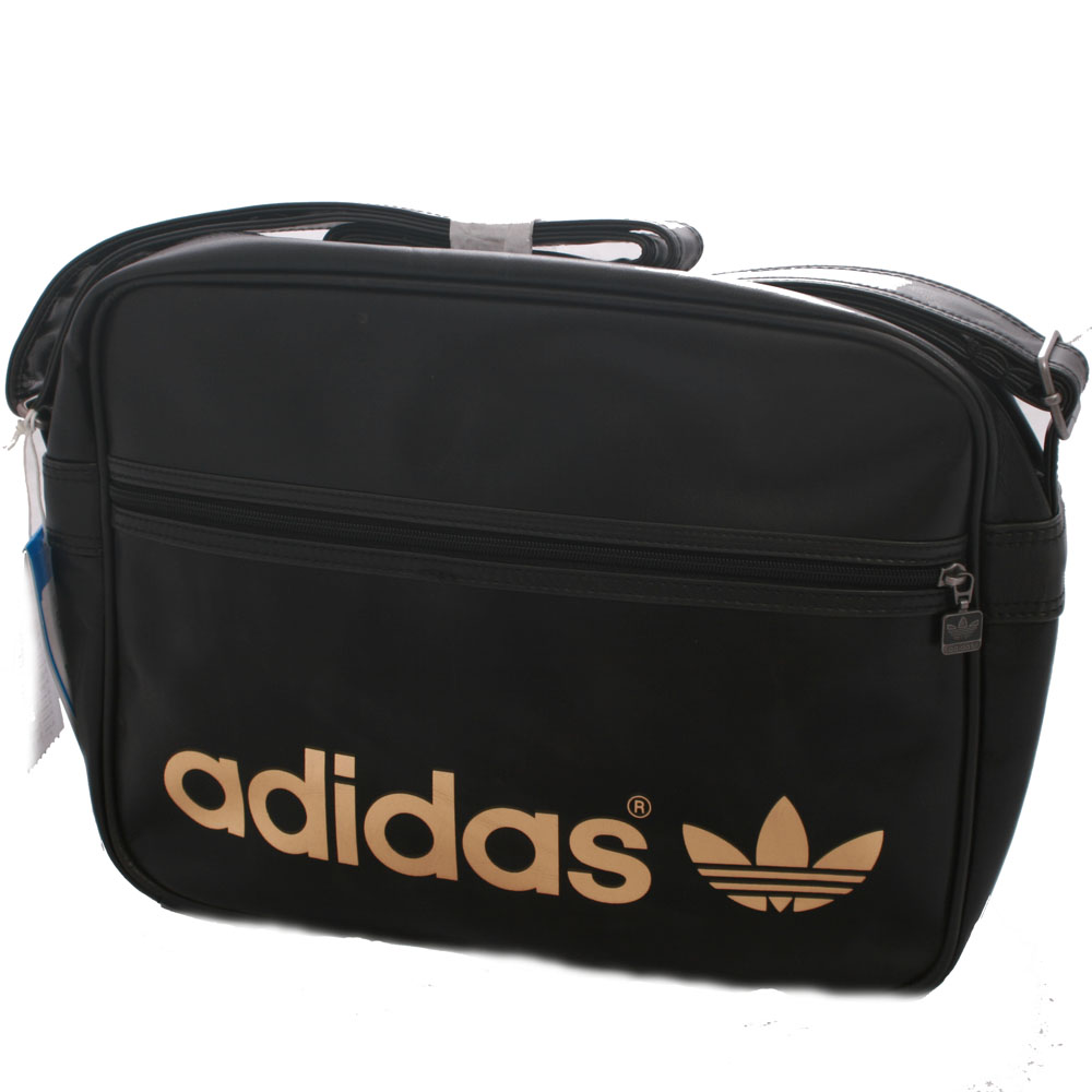 f2f643fe92 adidas Originals Adidas Black Gold Airline Bag