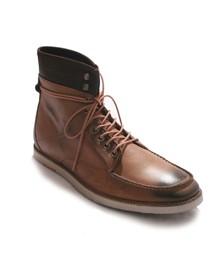 J Shoes Mens Beige Operator Wax Nubuck Boot
