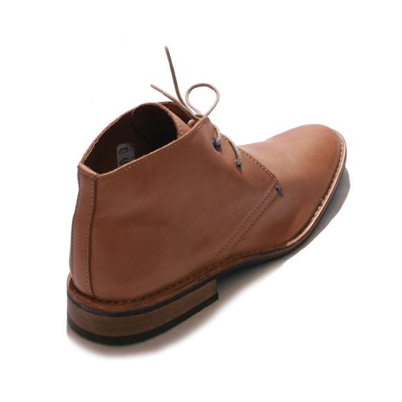 Base London Mens Brown Base London Tan Lease Waxy Boots main image