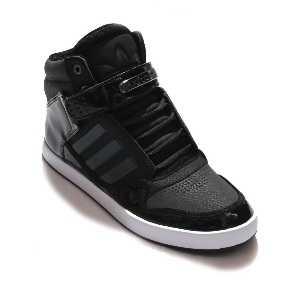 Adidas Black AR 2.0 High Top Trainer main image