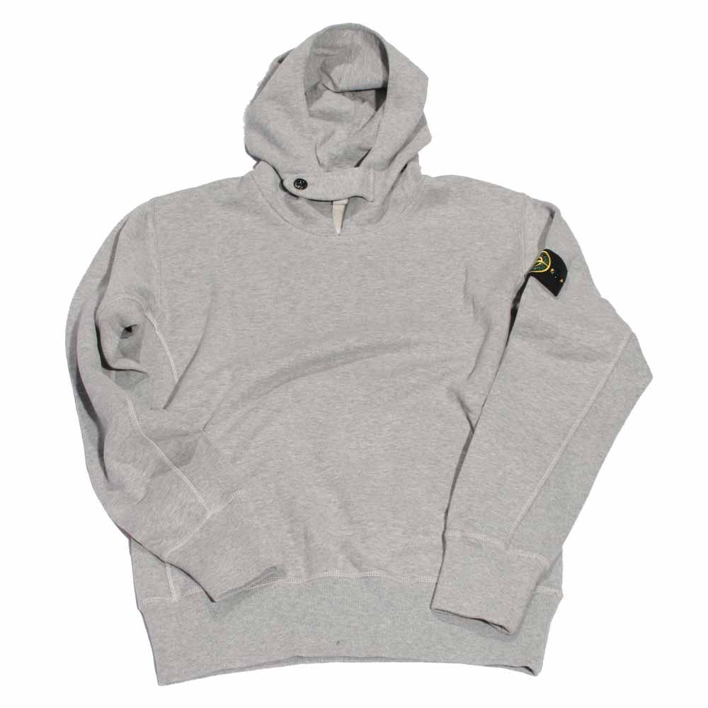 ef86f0154af13 Stone Island Grey Pullover Badge Hoody