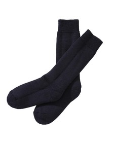 Barbour Lifestyle Mens Blue Wellington Calf Sock