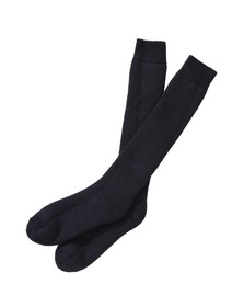 Barbour Lifestyle Mens Blue Wellington Knee Sock