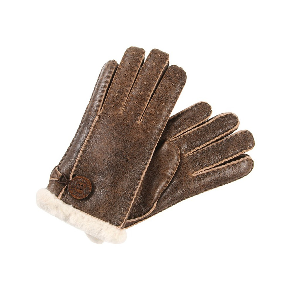 Ugg Bomber Chocolate Natural Bailey Glove main image