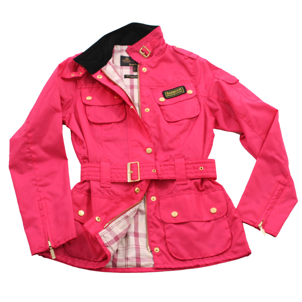 Barbour International Pink