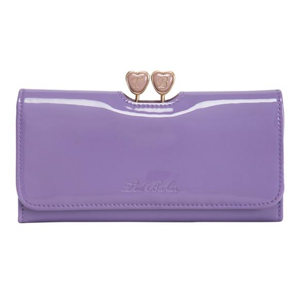 e0f0c9be51c3a Ted Baker Womens Purple Ted Baker Ronnee Enamel Heart Bobble Matinee Purse  - Lilac main image. Loading zoom
