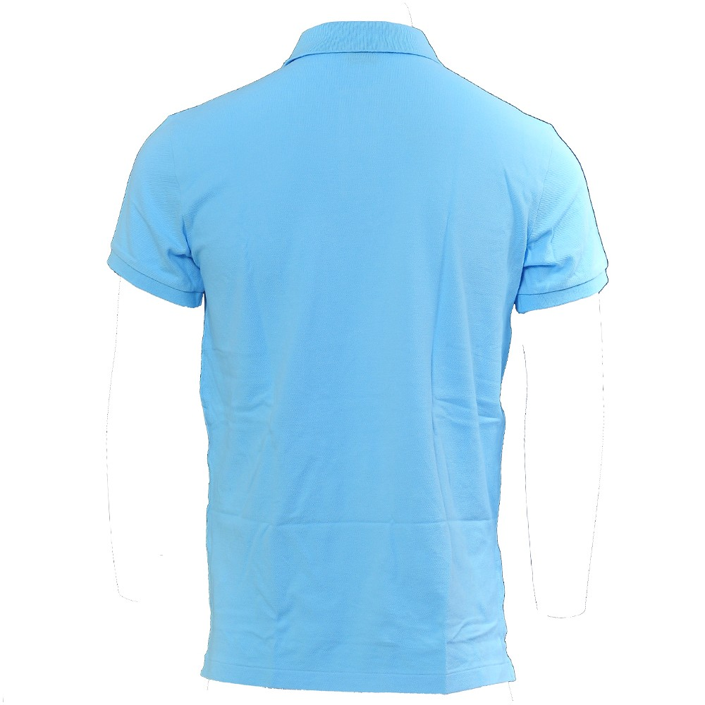 Lauren Blue Polo Shirt Fit Turquoise Ralph Custom Mens French 0nk8OwP