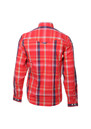Luke Sport Red Block Roll Up Sleeve Military Shirt additional image