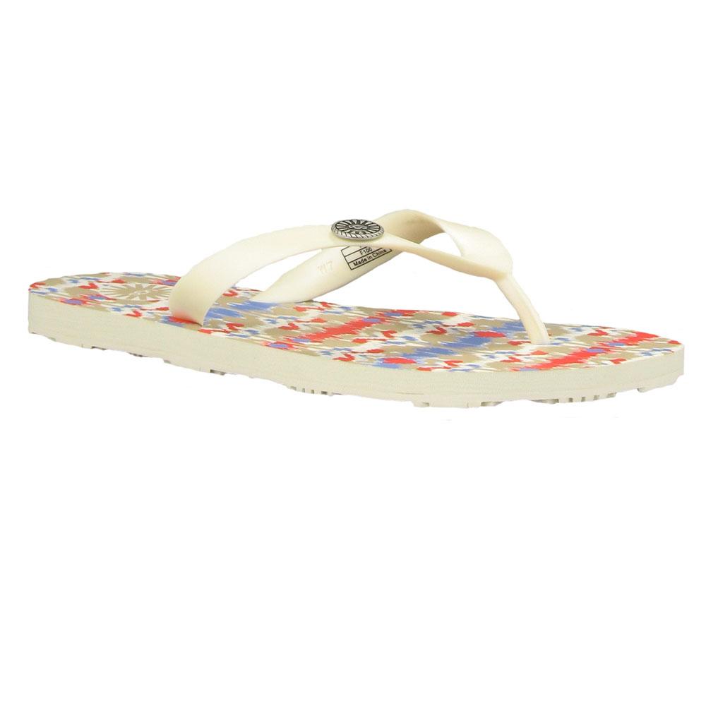 fd026f3ba0b Womens Multicoloured Ugg Ikat Flare Flip Flop - Santorini Ikat