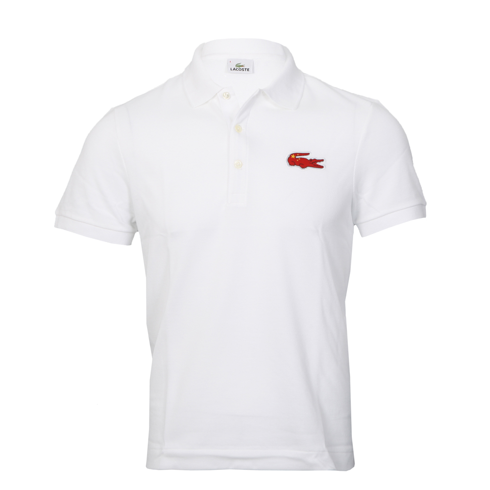 4f6cc78bf Lacoste China SSX White PH9501 Flag Polo main image