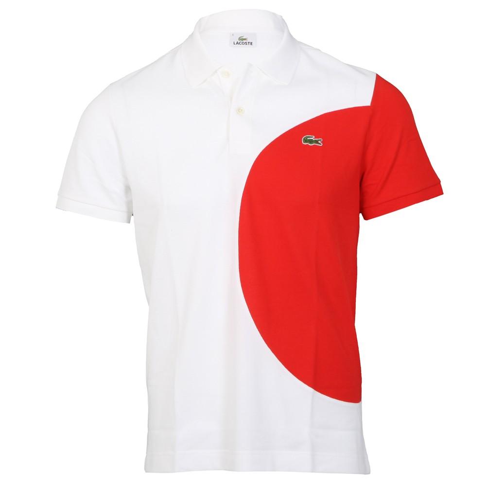 025c97bdb08f42 Lacoste PH6513 TPY Japan Flag Polo