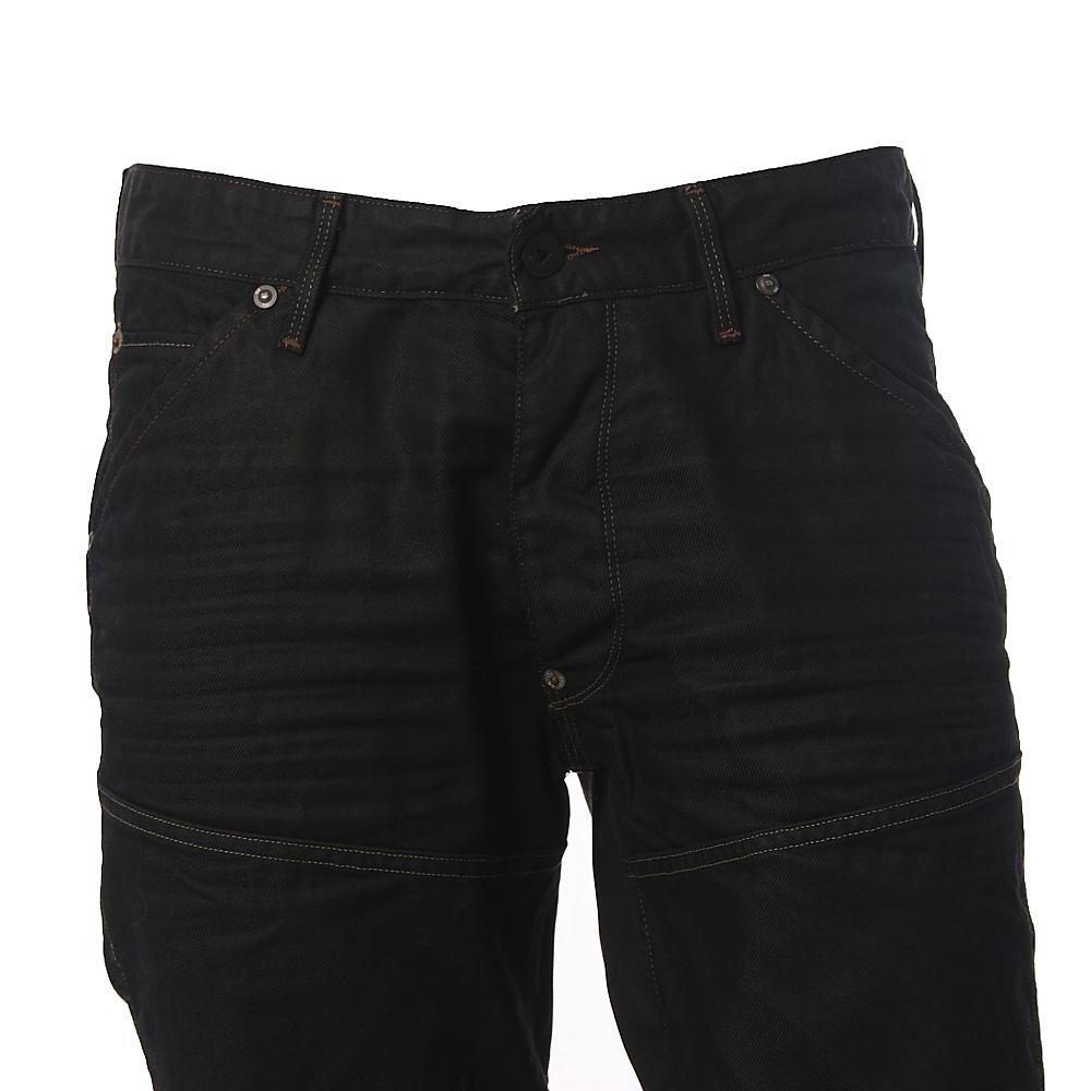 c23e9091fcc G-Star Elwood Heritage Crushed Black Embro 96 Jeans   Oxygen Clothing