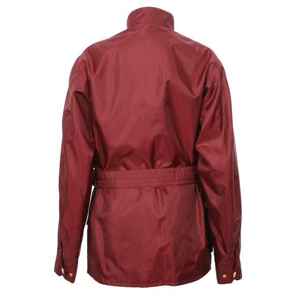 Barbour International Mens Red Barbour A7 Bright Brass International Jacket main image
