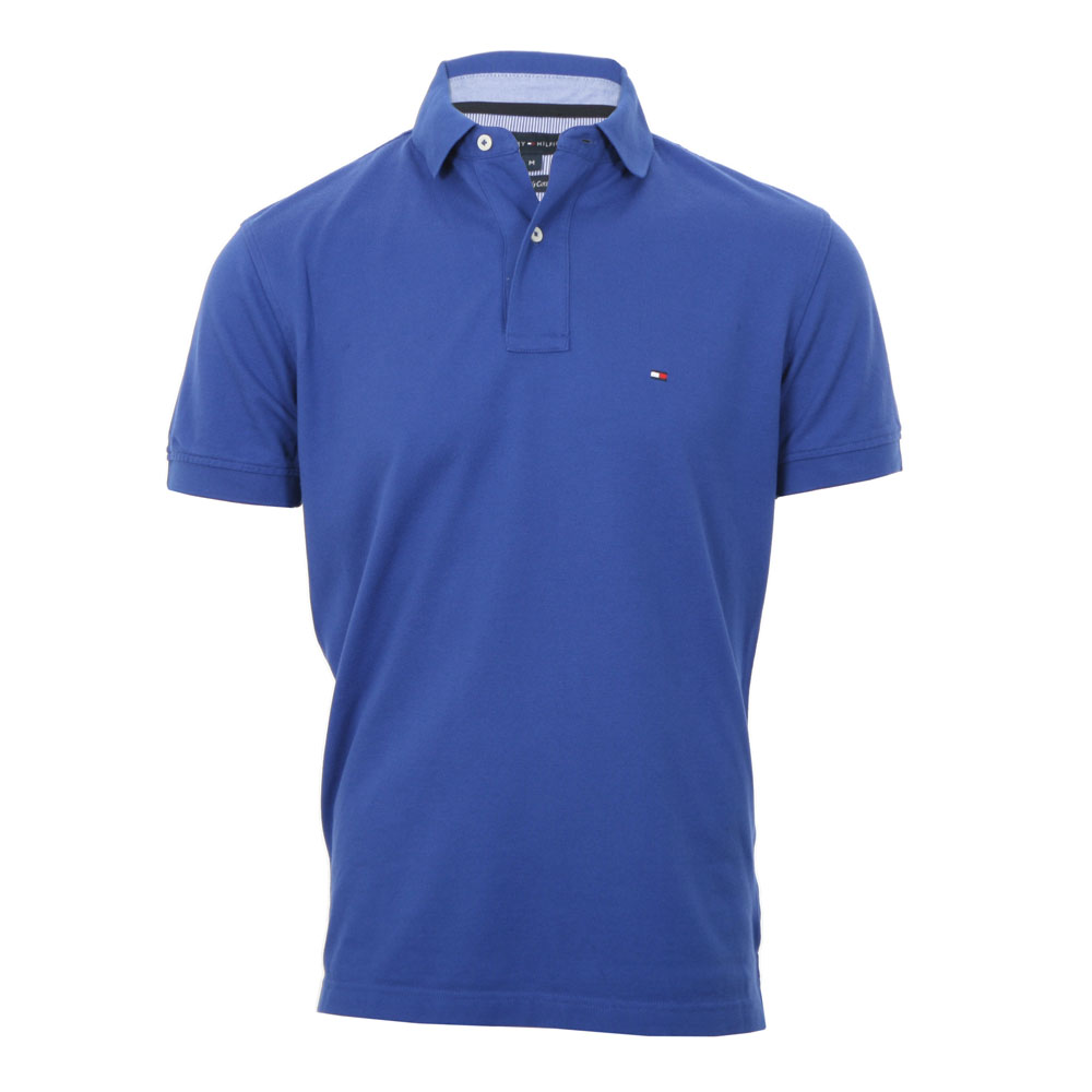 46445ff31 Tommy Hilfiger Blue New Tommy Knit Polo Shirt main image