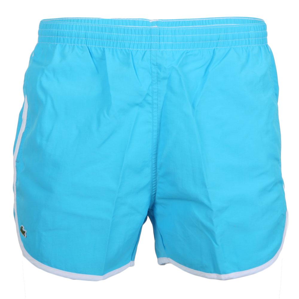 7b778a51cf0c5 Lacoste Live Mens Blue Lacoste L!ve MH7240 Sirene Swim Shorts main image.  Loading zoom