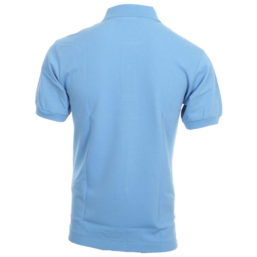 062f41e9 Lacoste L1212 Fjord Plain Polo Shirt   Oxygen Clothing