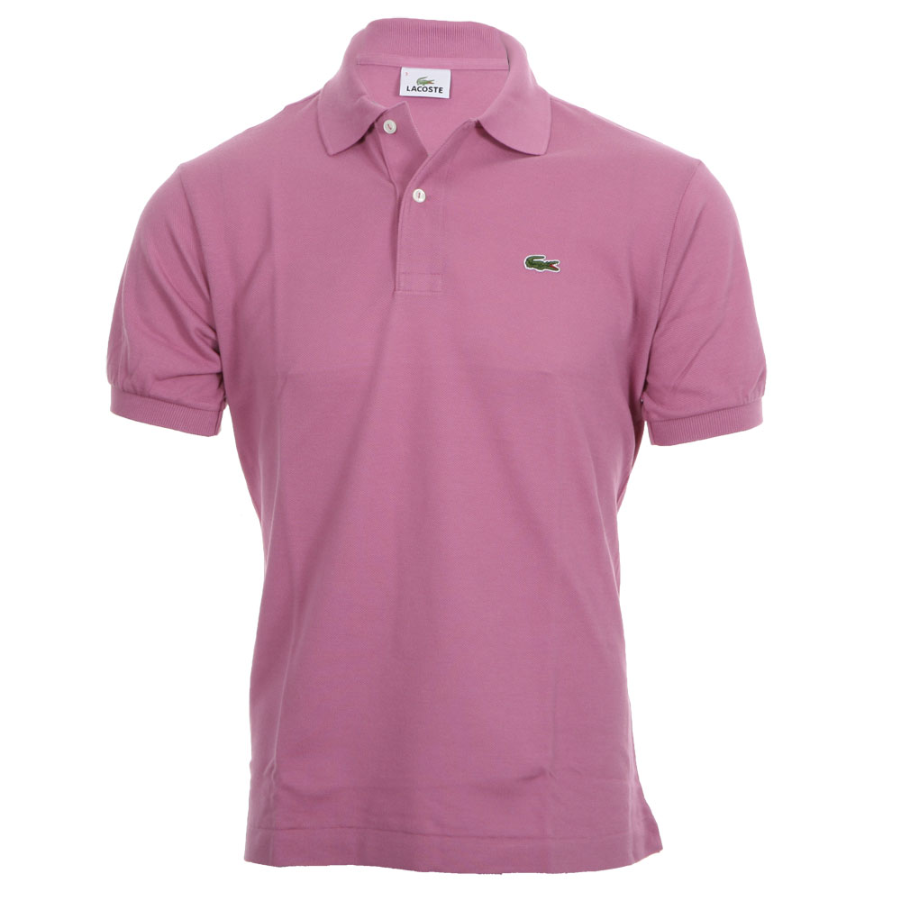 e2b5808ee49 Lacoste L1212 Lilas Plain Polo Shirt