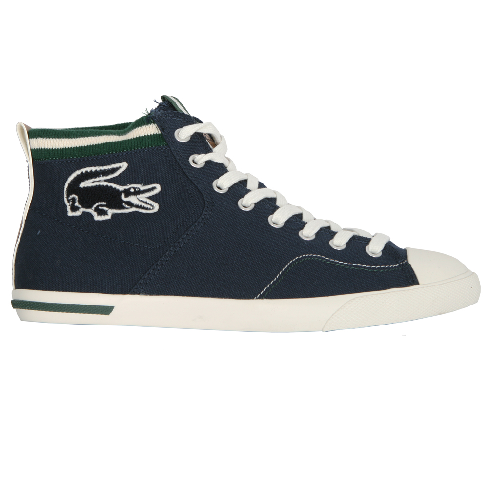 7f1cab4c9985 Lacoste Mens Blue NEWTON MID VY2