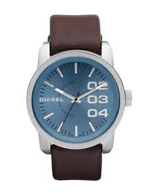 Diesel Mens Brown DZ1512 Franchise 46 Round Watch