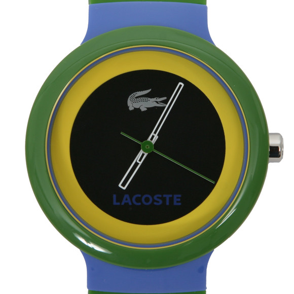 Lacoste Goa Black Green Watch