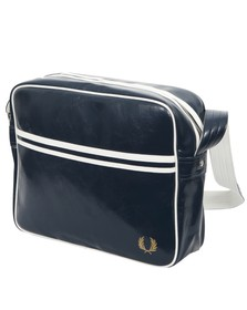 Fred Perry Mens Blue Classic Shoulder Bag