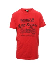Barbour Lifestyle Boys Red Barbour Boys Circuit Tee