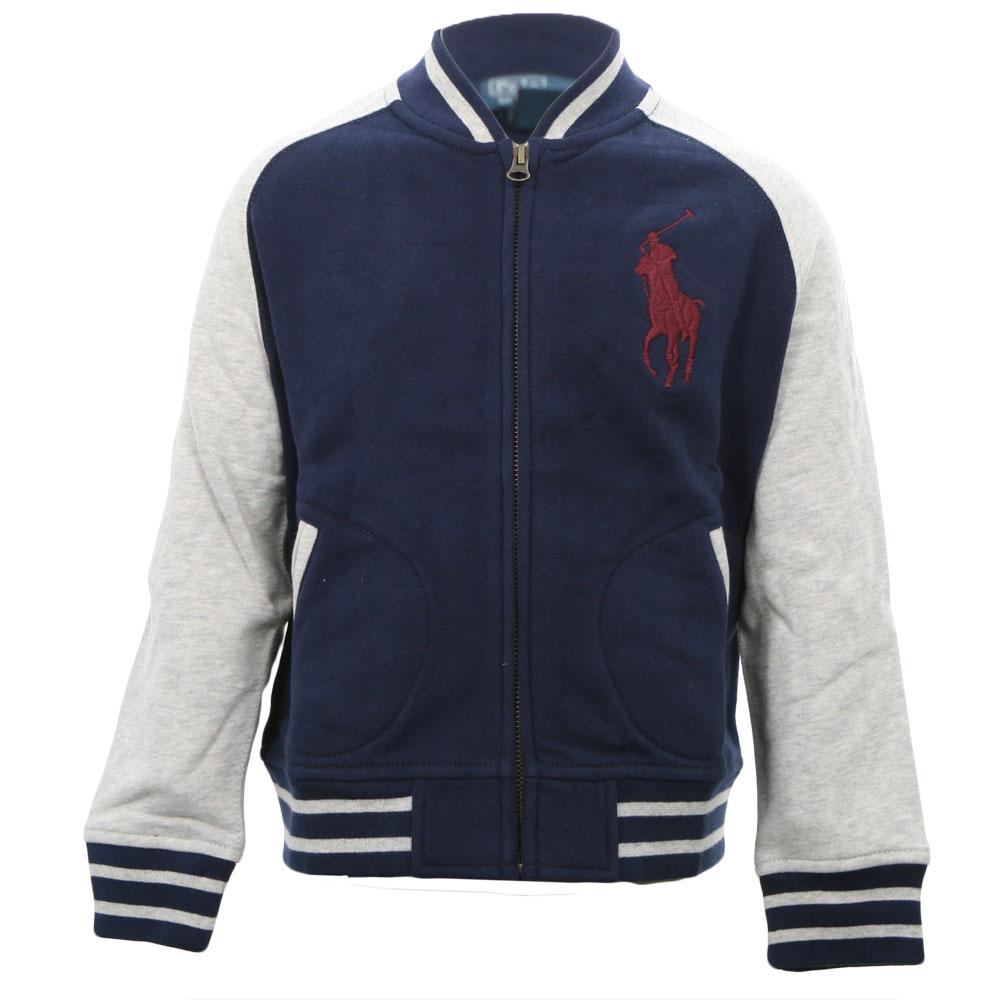 Ralph Lauren Big Polo Player Baseball Jacket | Masdings