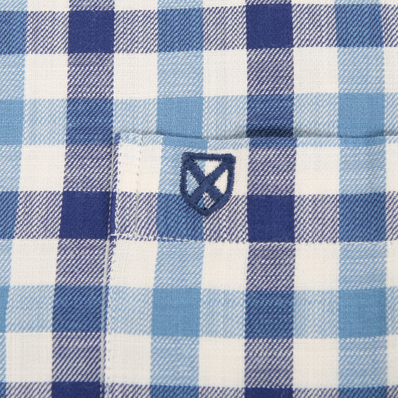 Barbour Lifestyle Boys Blue Barbour Boys Ridge Shirt main image