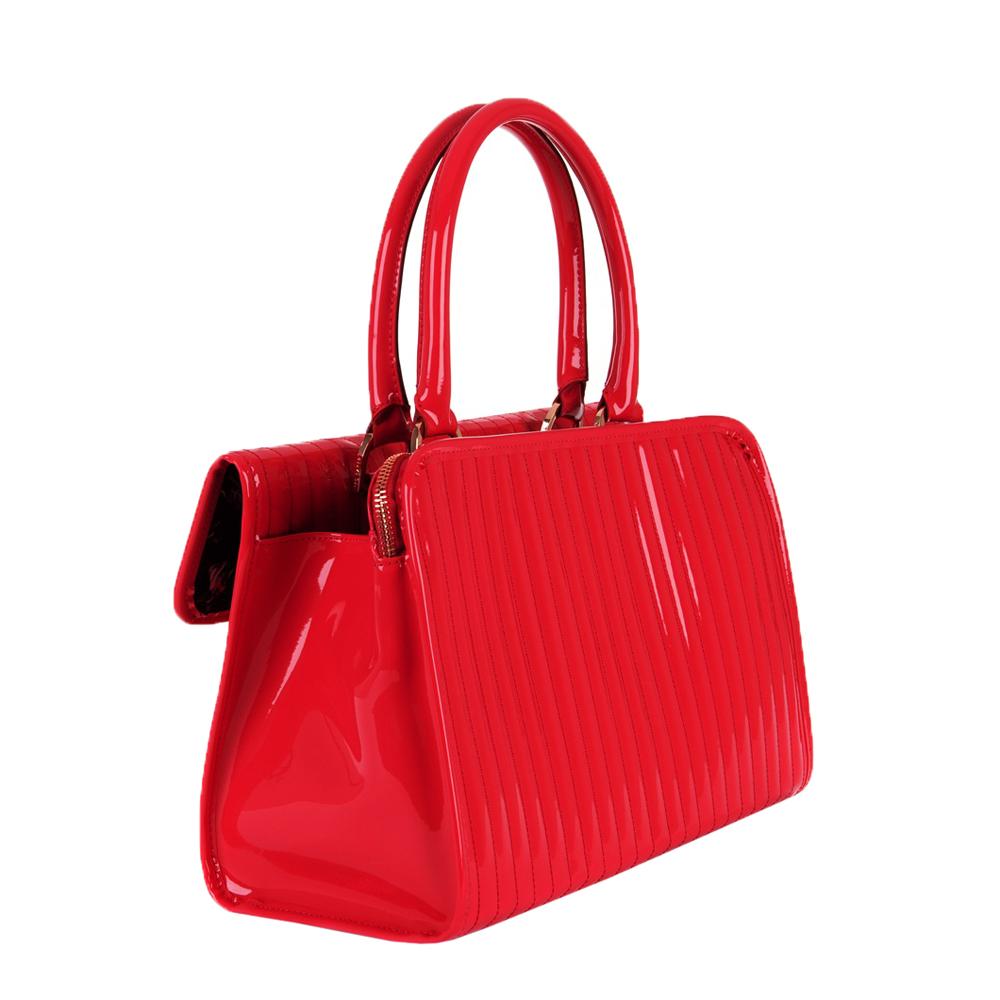 d582ae3a443b Ted Baker Mardun Enamel Flap Pocket Tote Bag main image