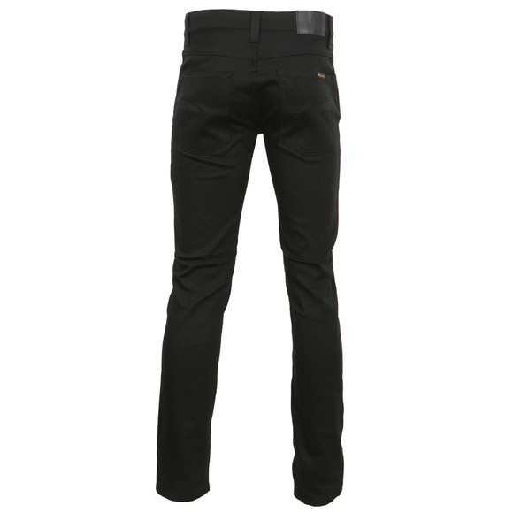 Nudie Jeans Mens Black Grim Tim Black Ring Jean main image