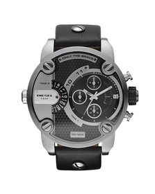 Diesel Mens Black Diesel DZ7256 Little Daddy Chrono Watch