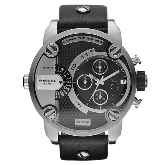 Diesel Mens Black Diesel DZ7256 Little Daddy Chrono Watch main image