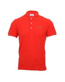 Lacoste Mens Red Lacoste PH1211 Slim Fit Polo Shirt