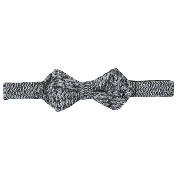 Scotch & Soda Mens Grey Scotch & Soda The Worker Bow Tie  main image