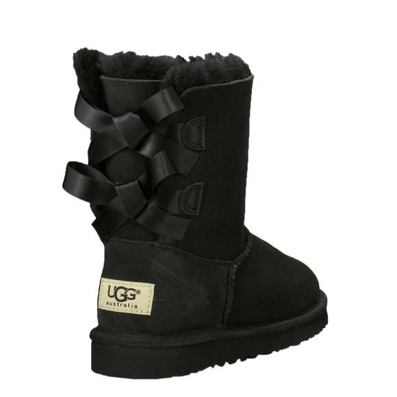 Ugg Girls Black Bailey Bow Boot main image