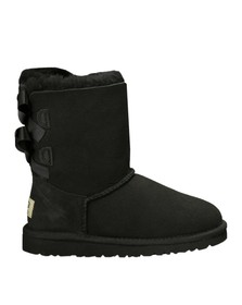 Ugg Girls Black Bailey Bow Boot