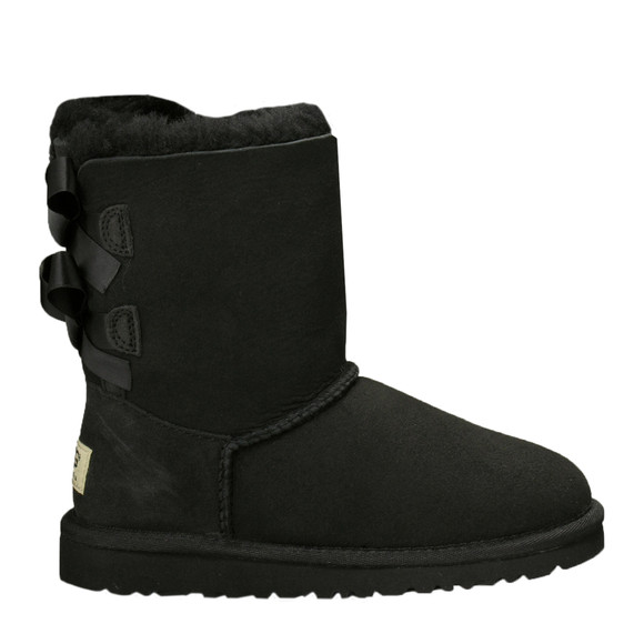 Ugg Girls Black Bailey Bow Boot main image